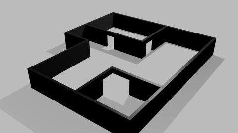 An Extruding Floorplan